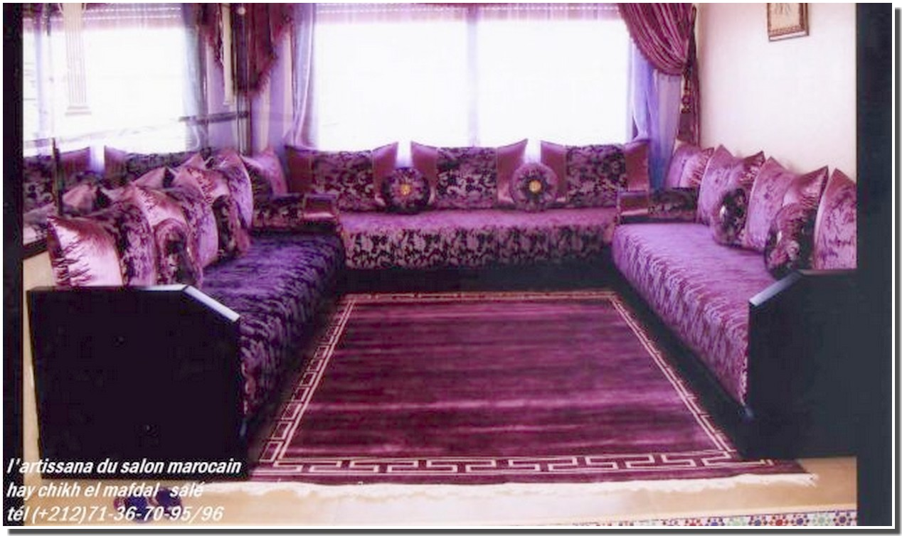 Nassima home salon marocain moderne Model salon moderne