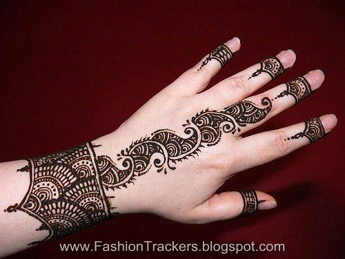 Mehndi Designs Very Nice : Latest hina designs very nice for bridal fashion trackers