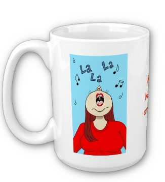 I Love to Sing Mug found at http://www.zazzle.com/dollinha - ©Ana Tirolese
