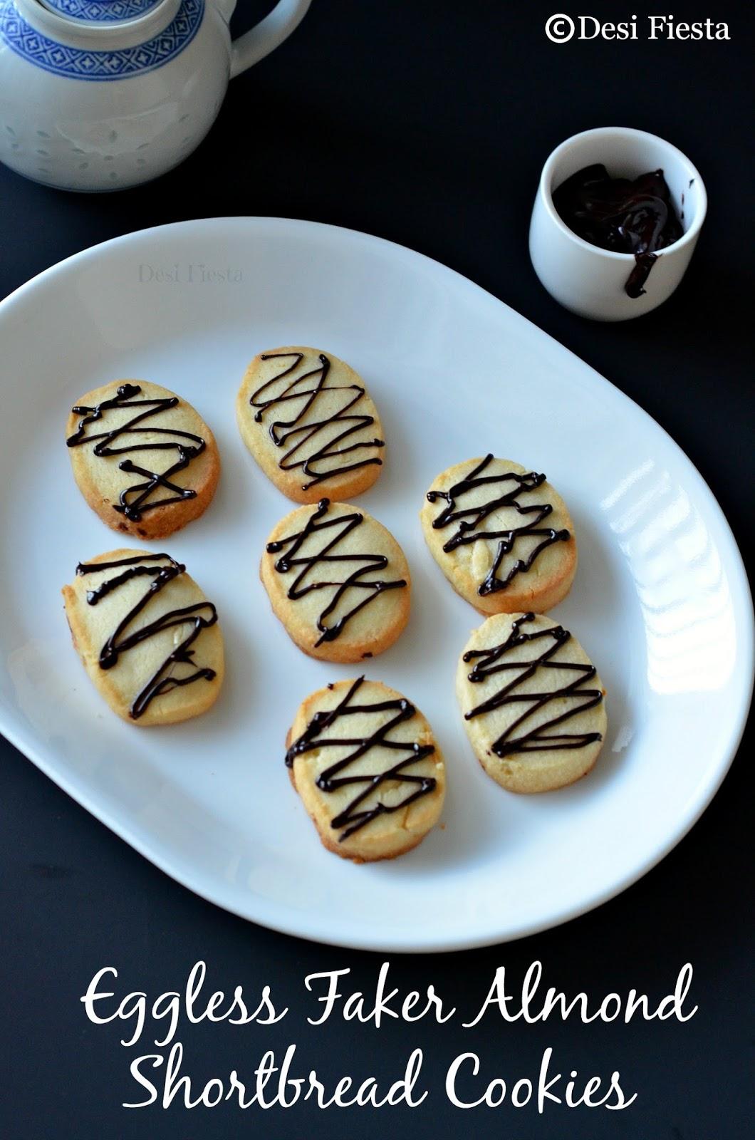 almon short bread cookies