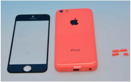 iPhone-5C-back-side-image-with-red-color