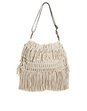 Crochet Bag Strap : Caprece Knows Fresh: TopBagTuesday: Asos Leather Strap Crochet Bag