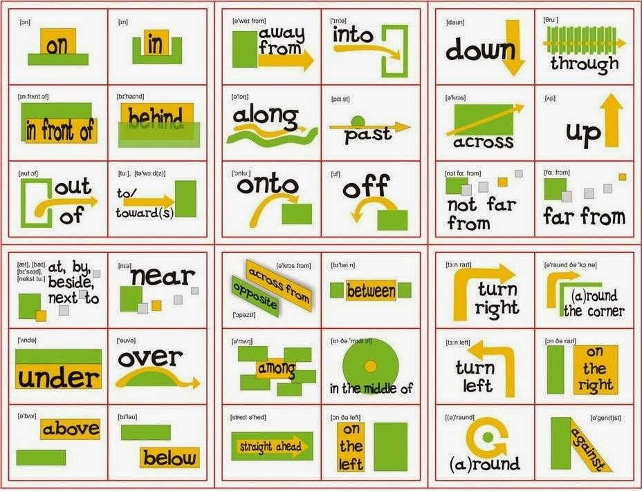 prepositions test in english pdf