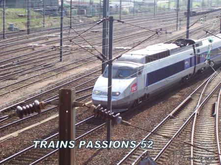 TGV  METZ  - NICE /CHALINDREY