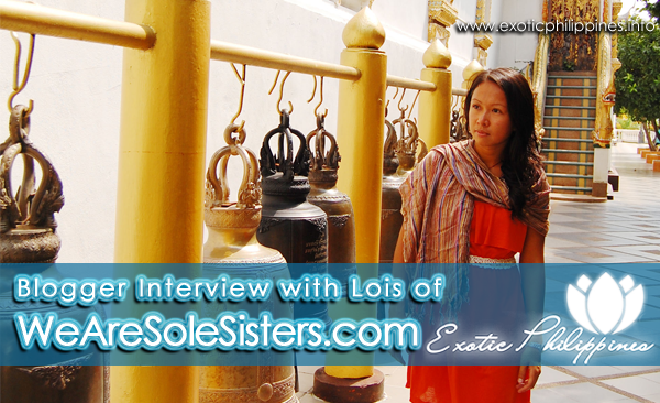Blogger Interview with Lois of WeAreSoleSisters.com