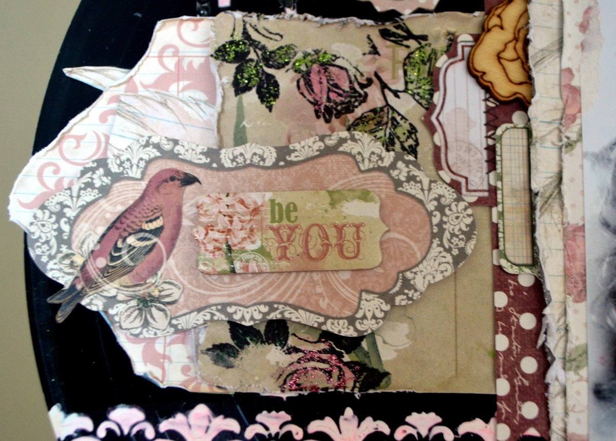 Be You OTP project by Agnieszka Bellaidea for Bo Bunny featuring Garden Journal collection