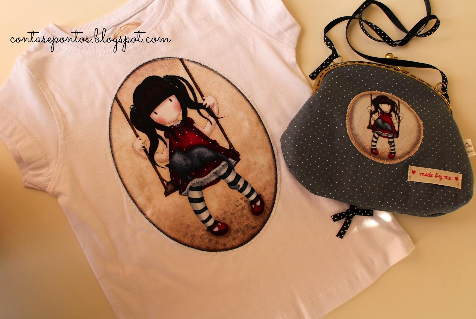 Gosrjuss girls - camisola e mala