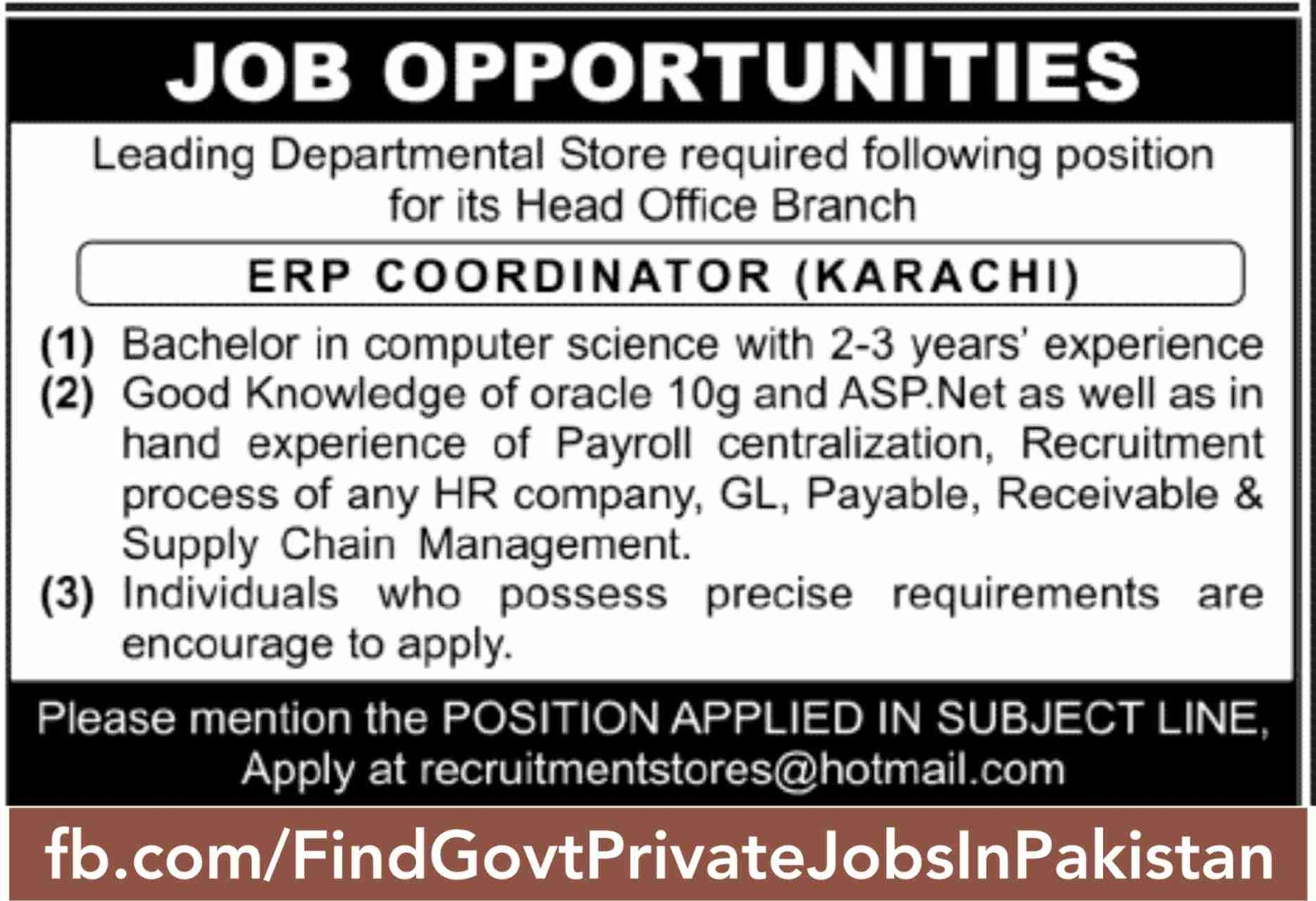 job opportunity sunday jang