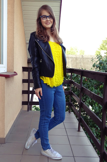 OOTD: Yellow power! :*