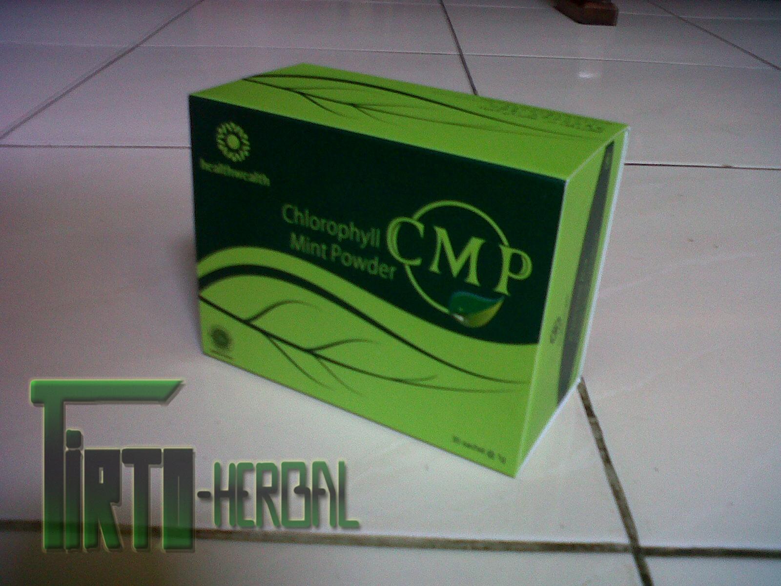 Kesaksian CMP (Chlorophyll Mint Powder)
