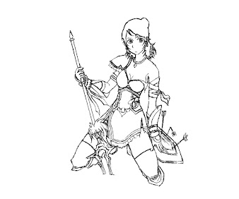#11 Dinasty Warriors Coloring Page