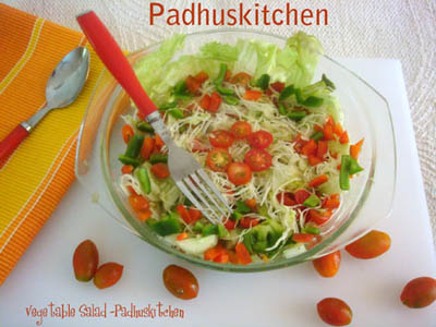 Healthy vegetarian salad recipes indian