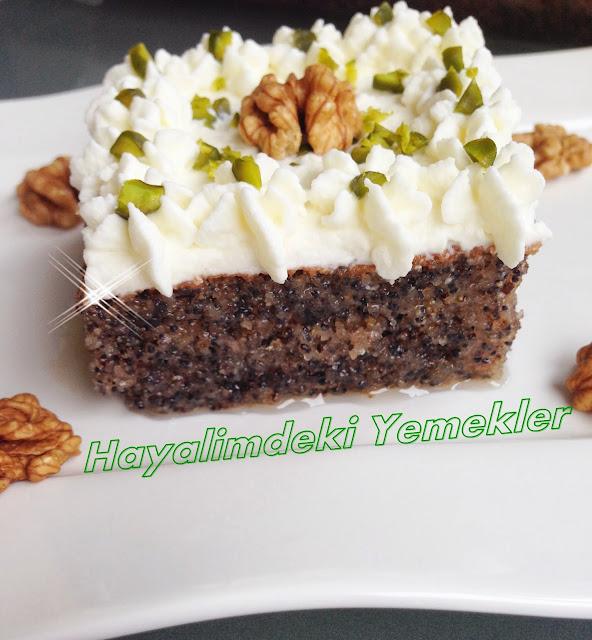 Haşhaşlı Çıtır pasta tarifi