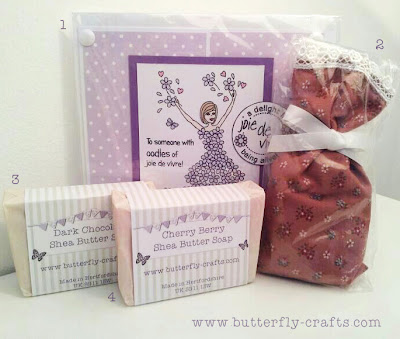 Butterfly Crafts handmade Giveaway