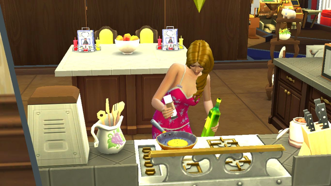 sims 4 cooking