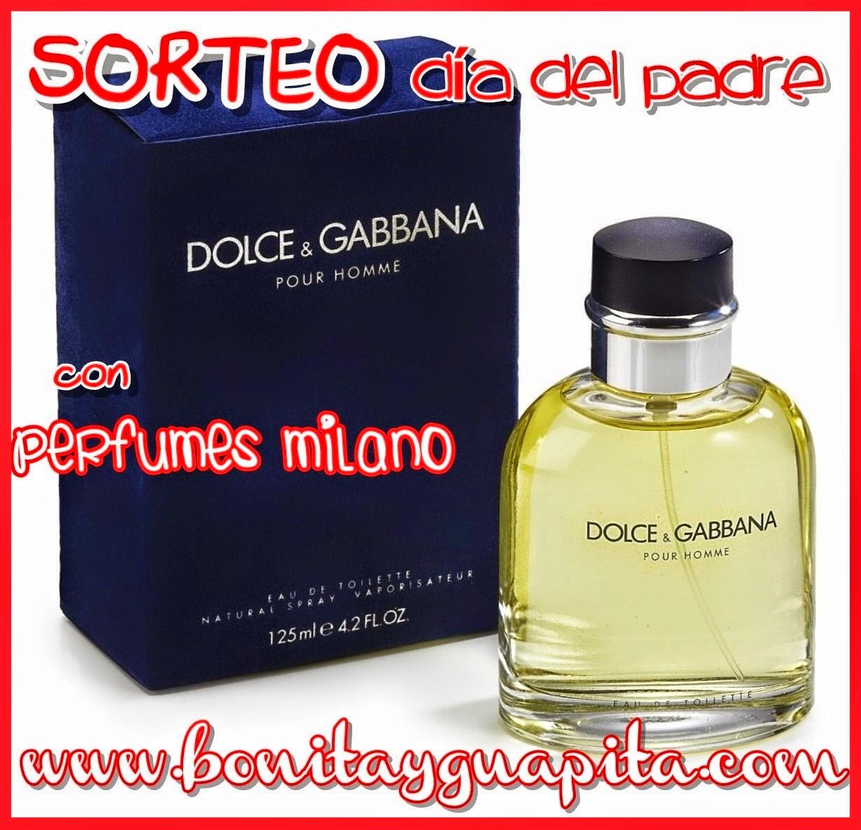 sorteo del dia del padre con perfumes milano en guapita y bonita