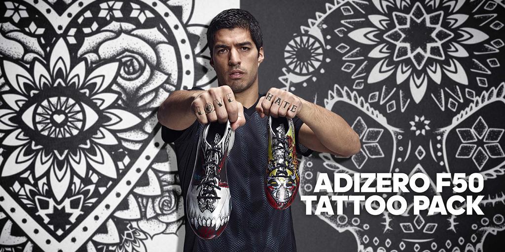 adidas fußballschuhe tattoo