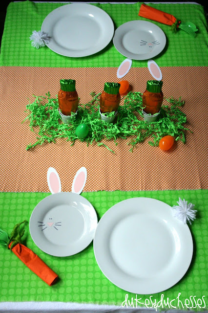 Dukes and Duchesses: An Easter Tablescape for Kids