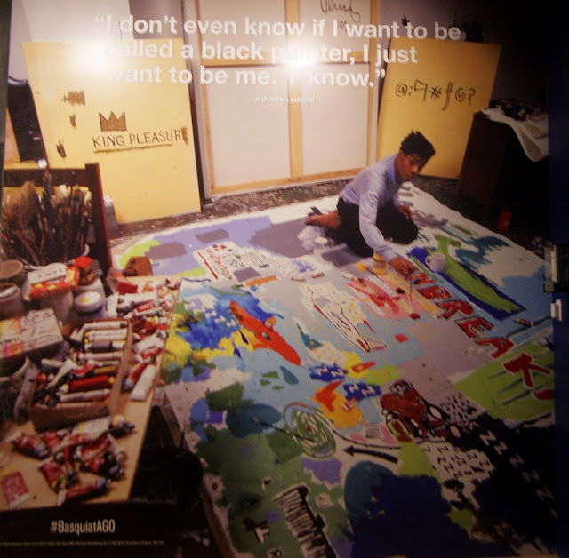 Jean-Michel Basquiat: Now's the Time Exhibit at Art Gallery of Ontario in Toronto, AGO, artmatters, crowningheroes, culture, pop, graffiti, brooklyn, new york, the purple scarf, melanie.ps, ontario, canada