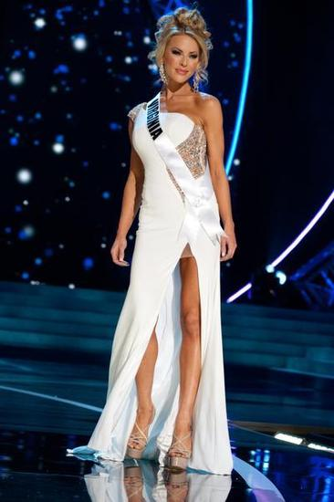 SASHES AND TIARAS.....Miss USA 2013 Preliminaries Gowns: Slit ...