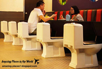 chines toilet restaurant