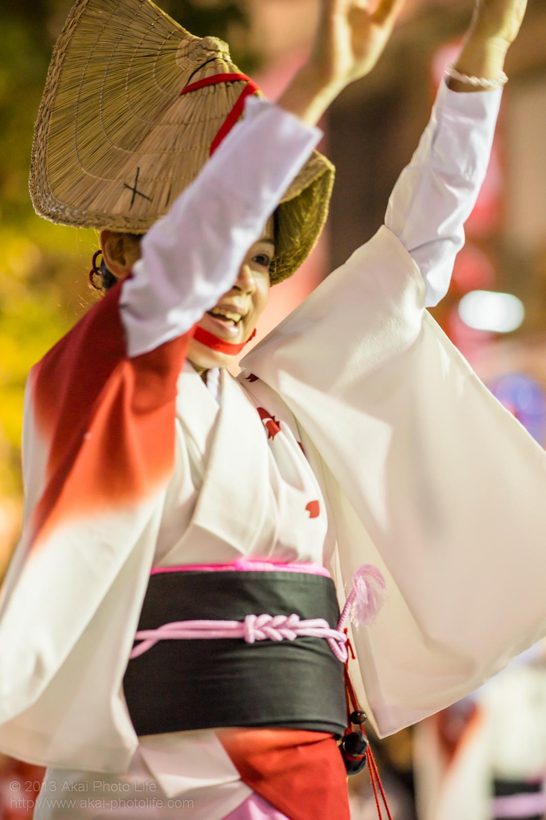 三鷹阿波踊り、みたか銀座連の女踊り
