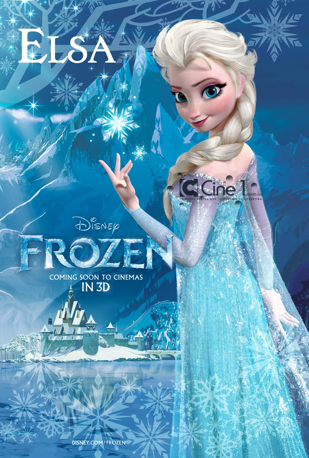 UPDATED: New Frozen Posters Give Us a Look at its Main Characters