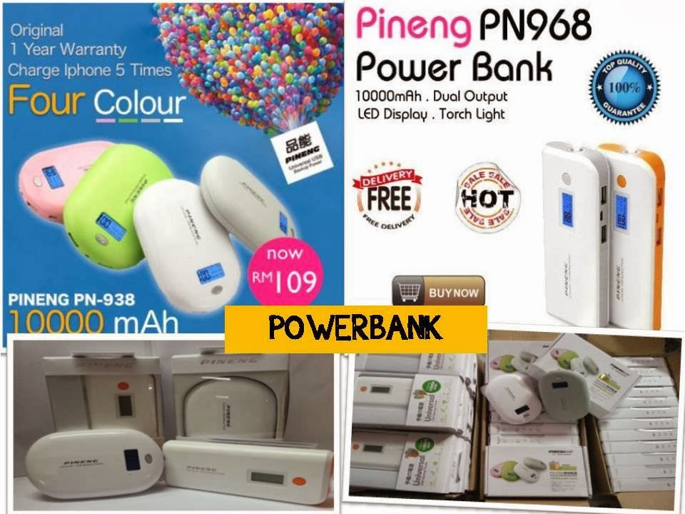 PROMOSI POWER BANK ORI PINENG