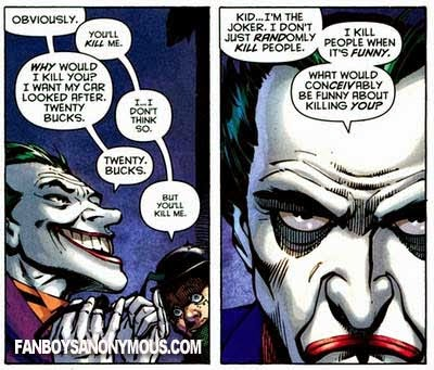 Joker Joke Batman Funny Comics Kill Murder