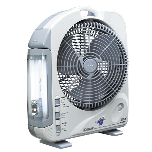 Sunca Rechargeable Fans With Emergency Led Lights