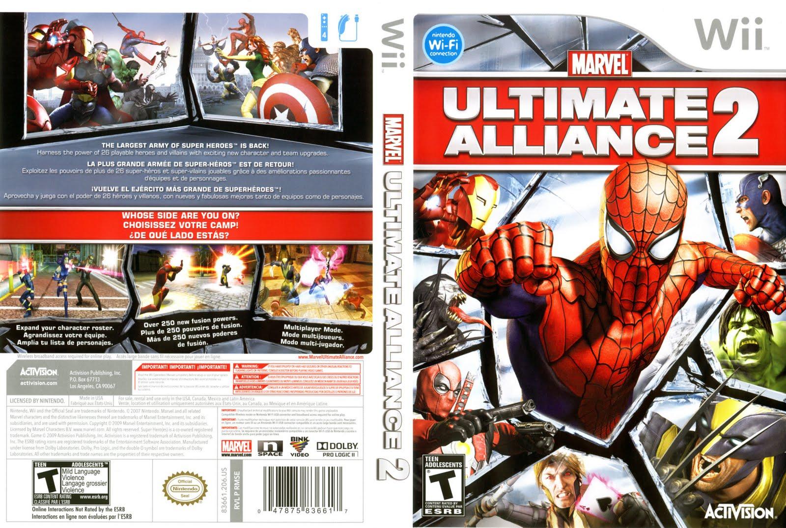 Marvel ultimate alliance ii