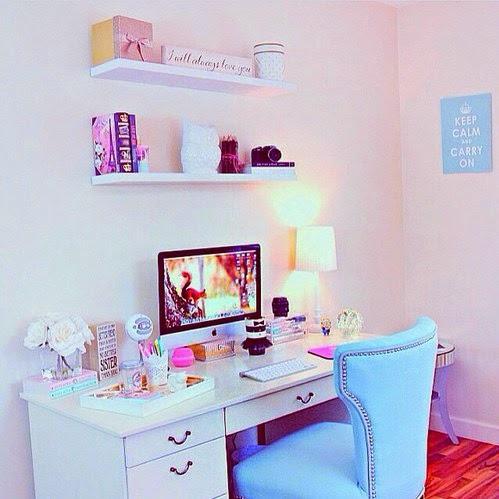 Id ias para deixar seu quarto lindo mas por que bia for Schreibtisch tumblr
