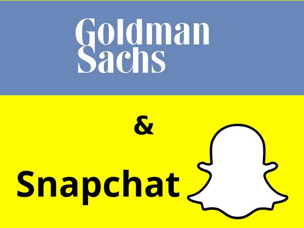 Goldman Sachs se anuncia en Snapchat para reclutar empleados entre los jóvenes