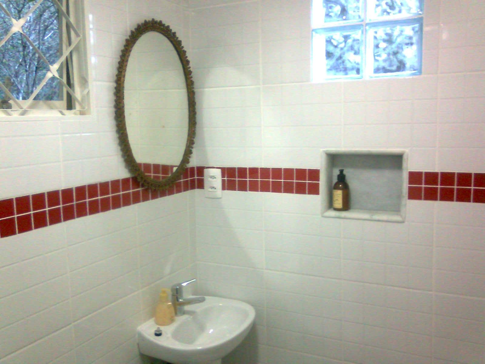 ROBERTO MEIRELES PROJETOS E CONSTRUÇÕES #246AA7 1600x1200 Banheiro Com Nicho Vermelho