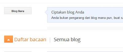 Cara Membuat Blog Gratis Menggunakan Blogger KLU IC