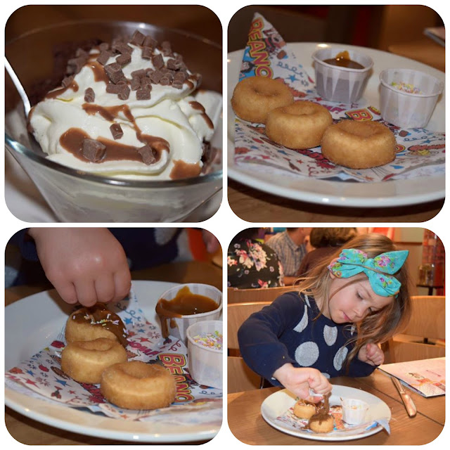 Children's desserts at brewers fayre