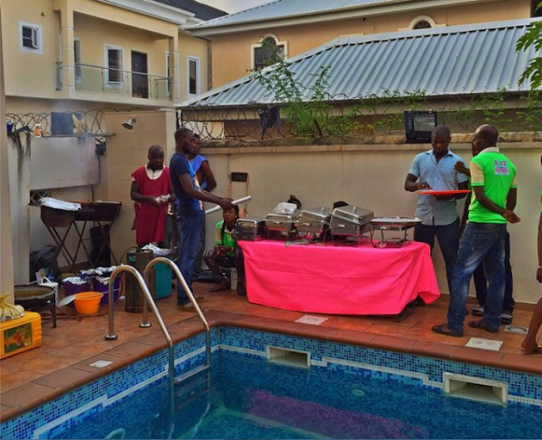 Photos from Iyanyas house birthday party