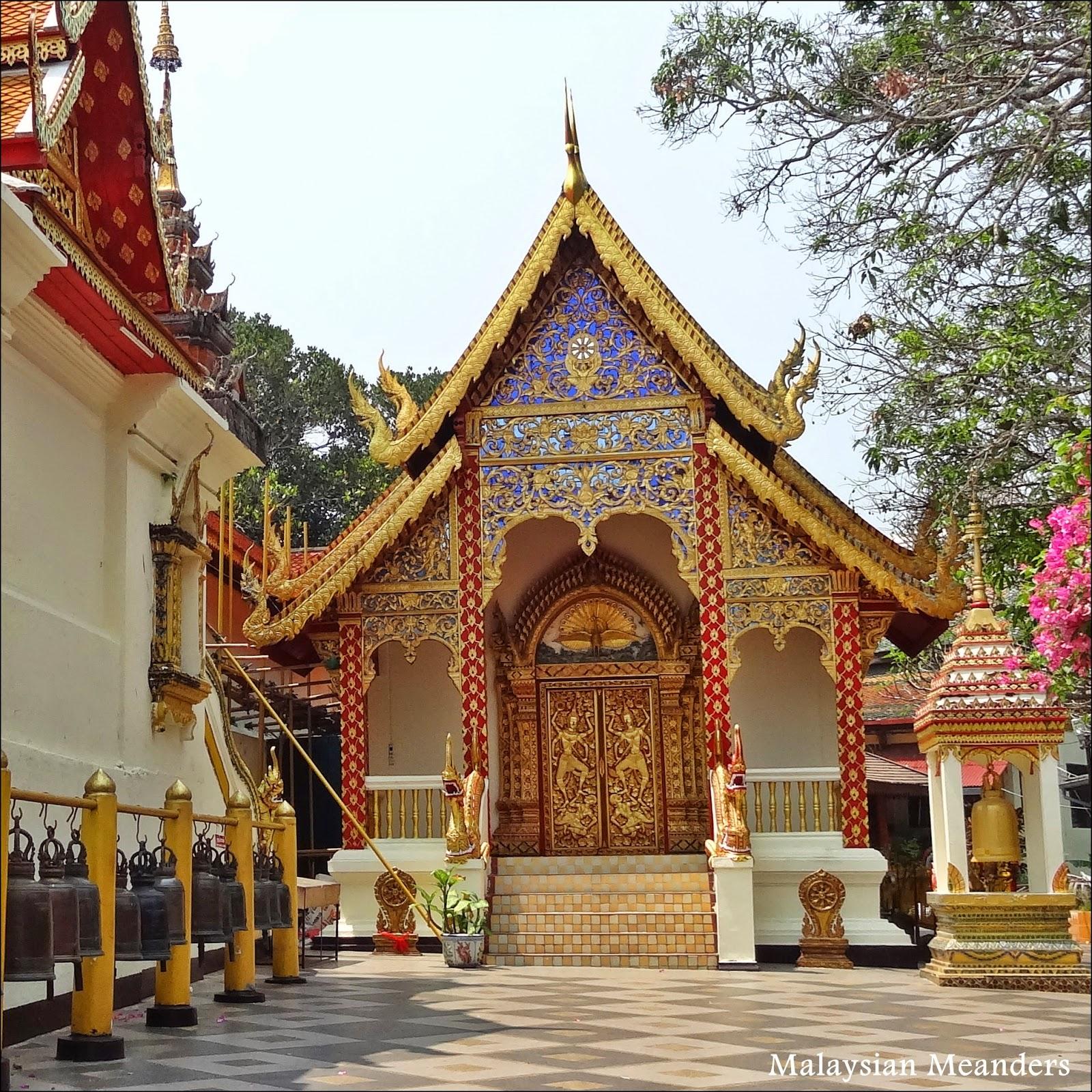 Chiang Mai, temple, Wat Phrathat Doi Suthep
