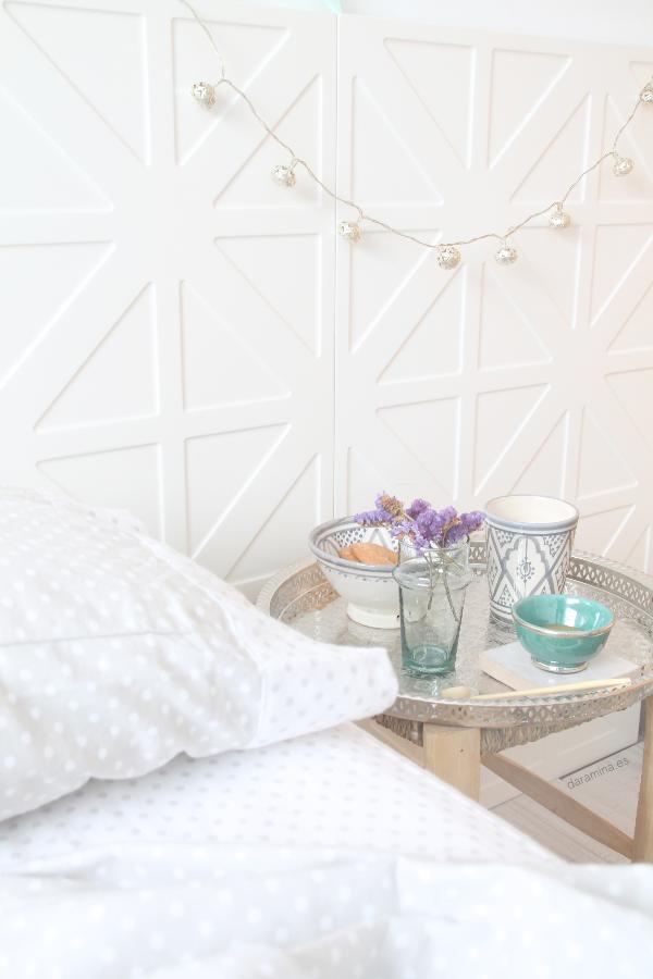 decoración de invierno para el dormitorio