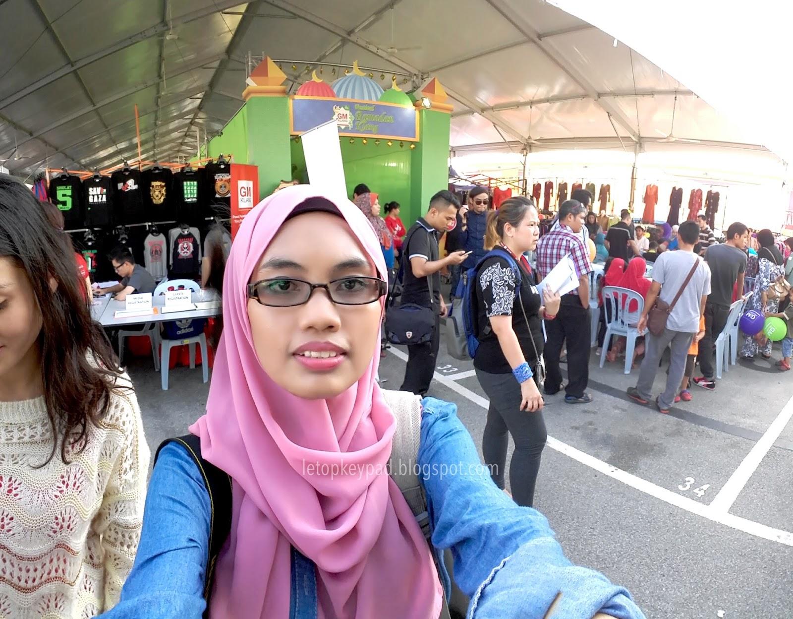 Ucapan tahniah kepada UiTM dan Women International Network WIN yang telah bekerjasama di atas penglibatan usahawan mereka di Festival Ramadhan Klang ini