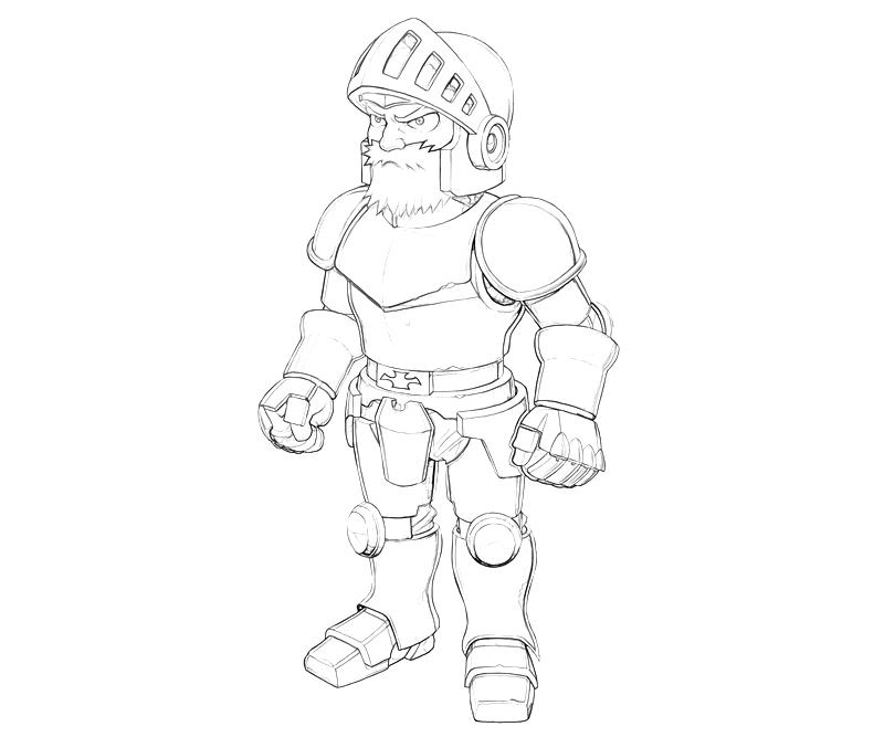 printable-marvel-vs-capcom-sir-arthur-armor-coloring-pages