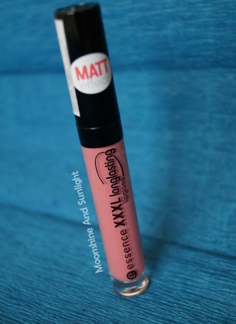 Essence XXXL Longlasting Lipgloss in VELVET ROSE review
