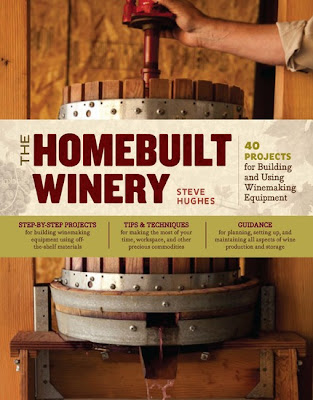 The Homebuilt Winery book cover