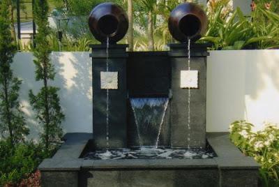gambar kolam mungil di rumah minimalis 25 gambar model