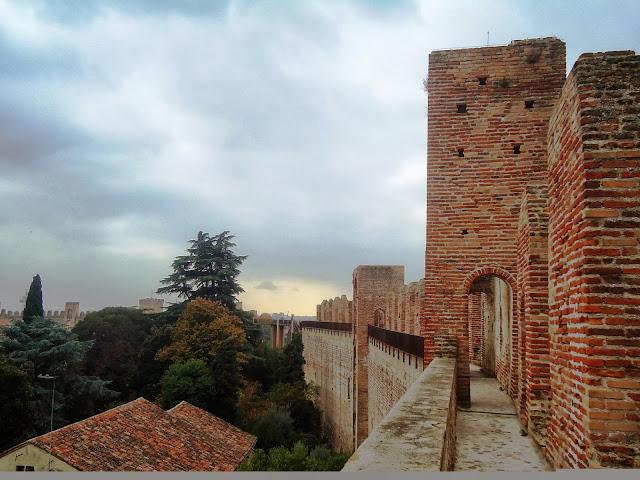Sulle mura di cinta di Cittadella - Padova