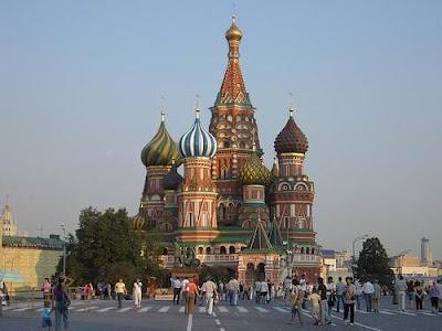 Moscú ciudad turismo