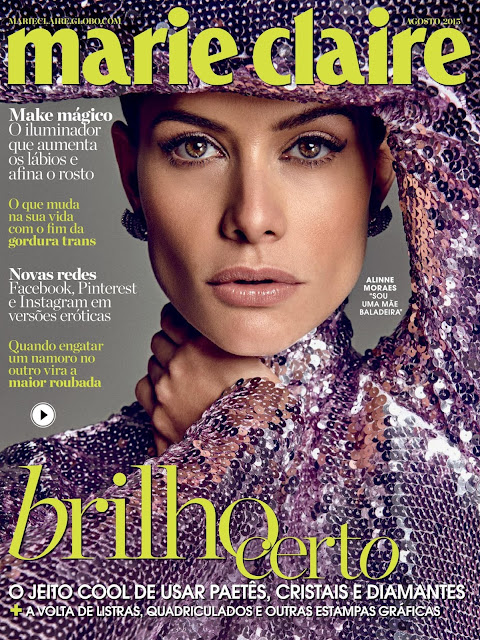Actress @ Alinne Moraes - Marie Claire Brazil, August 2015