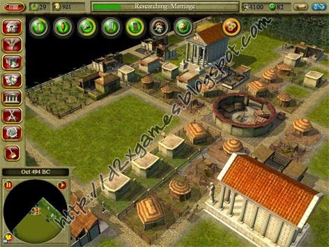 Free Download Games - CivCity Rome