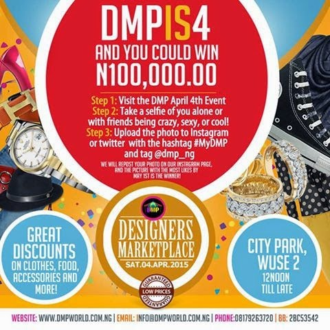 Win N100,000 with DMP!!