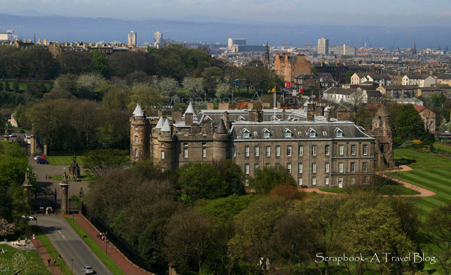 The Holyroodhouse Palace Edinburgh